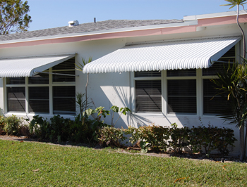 Awnings from Sunshine aluminum Specialties