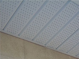 Fascia and Soffit from Sunshine aluminum Specialties